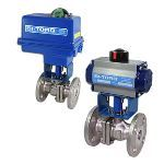 BI-TORQ Valve Automation - IS-2PF (150# Flanged ) Electric Actuator Ball Valves