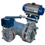 BI-TORQ Valve Automation - 3-Way Tee Linkages with Butterfly Valves