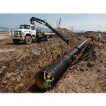 Triton Environmental - Drainage Products - High Density Polyethylene Pipe