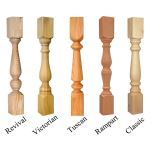 American Porch, LLC - 3 1/2″ Wood Spindle