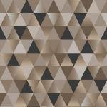 Acoufelt LLC - Geometric Triangles Bronze QP19