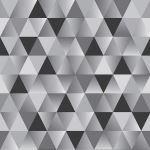 Acoufelt LLC - Geometric Triangles Slate QP20