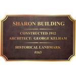 Bronze Memorials - Building/Bridges Plaques
