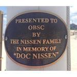 Bronze Memorials - Curved Pole Plaques