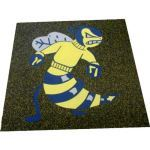Dinoflex - Custom Recycled Rubber Floor Design and Products