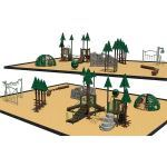 Park Planet - Del Lago Playground Structure