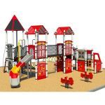 Park Planet - The Fire House Playground Structure