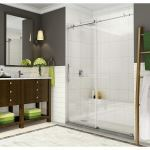 Aston Global - SDR984 Coraline - Coraline XL Frameless Sliding Alcove Shower Door with Starcast Coating
