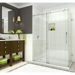 Aston Global - SEN984 Coraline - Coraline XL Frameless Sliding Shower Enclosure with Starcast Coating