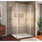 Aston Global - SEN987 Avalux Completely Frameless Square - Rectangular Shower Enclosure