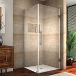 Aston Global - SEN988 Aquadica Completely Frameless Square Shower Enclosure