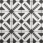Floor & Décor - Adessi Apache Black and White Matte Porcelain Tile