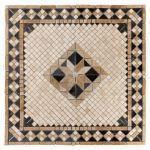 Floor & Décor - Casa Antica Aruba Tumbled Travertine Medallion
