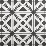 Floor & Decor - Adessi Apache Black and White Matte Porcelain Tile