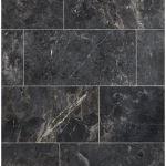 Floor & Decor - Maravilla Silver Black Polished Marble Tile