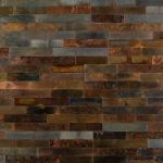 Floor & Decor - SimplInstall Distressed Copper Peel and Stick Metal Wall Panel