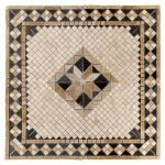 Floor & Decor - Casa Antica Aruba Tumbled Travertine Medallion