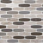 Floor & Decor - Montage Harbor Glass Stone Mix Mosaic