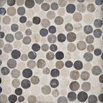 Floor & Decor - Pebblino Mosaici Corsica Blend Pebble Mosaic