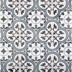 Floor & Decor - Equilibrio Blue Encaustic Cement Tile - 100517432