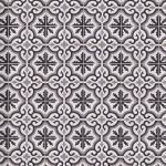 Floor & Decor - Equilibrio Black IV Encaustic Cement Tile