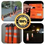 Vanguard ADA Systems - DisposaCones Recyclable Safety Cones
