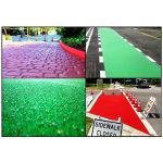 Vanguard ADA Systems - EcoPath Bike or Bus Lane Nonskid Coatings