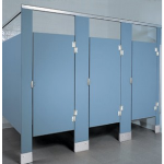 Global Partitions - Solid Plastic (HDPE) Toilet Partitions