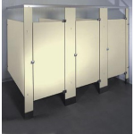 Global Partitions - Phenolic Black Core Toilet Partitions
