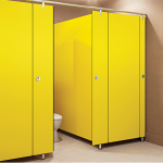 Global Partitions - Alpaco Elegance Collection Toilet Partitions