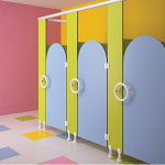 Global Partitions - Alpaco Kids Collection Toilet Partitions
