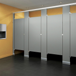 Global Partitions - Color-Thru Phenolic Toilet Partitions
