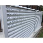 Ametco Manufacturing Corporation - Aluminum Perforated Fence