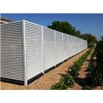 Ametco Manufacturing Corporation - Aluminum Fixed Louver Fence