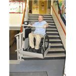 Garaventa Lift - Artira Inclined Platform Wheelchair Lift