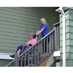 Garaventa Lift - Stair Trac - Portable Wheelchair Lift