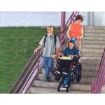 Garaventa Lift - Stair Trac - Portable Inclined Wheelchair Lift