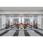 Hufcor, Inc. - Invista Low Profile Acoustical Glass Wall
