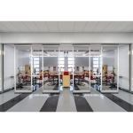 Hufcor, Inc. - GF Series Low Profile Acoustical Glass Wall