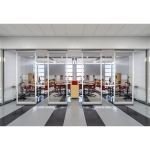 Hufcor, Inc. - GF Series Low Profile Acoustical Glasswall