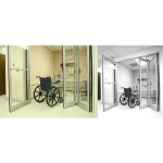 Stanley Access Technologies LLC - Dura-Care 7600: Hybrid Swing/fold Door System
