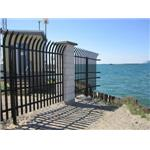 Ameristar Fence Products, Inc. - Stalwart IS® Anti-Ram Vehicle Barrier with High Security Fence