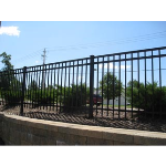 Ameristar Fence Products - Echelon II Industrial Ornamental Aluminum Fence