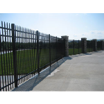Ameristar Fence Products - Montage Industrial Ornamental Steel Fence