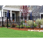 Ameristar Fence Products - Montage Residential Ornamental Steel Fence