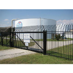 Ameristar Fence Products - TransPort II Sliding Cantilever Gates