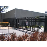 Ameristar Fence Products - TransPort IS Sliding Cantilever Gates