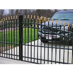Ameristar Fence Products - Estate Arched Entry & Driveway Gates