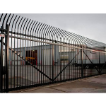 Ameristar Fence Products - PassPort Commercial Ornamental Rolling Gates