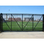 Ameristar Fence Products - PassPort II Sliding Roll Gates